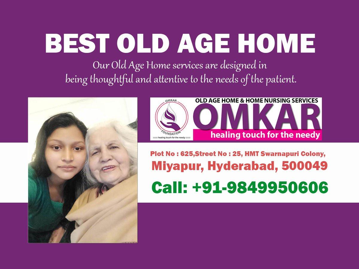 BEST OLD AGE HOME IN MIYAPUR, HYDERABAD.