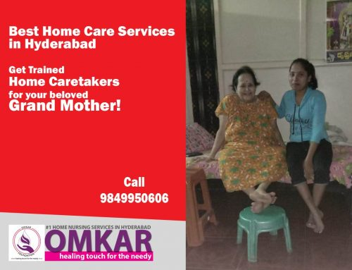 Get Trained Home Caretakers for your beloved Grand Mother
