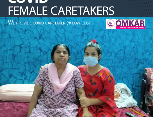 Get COVID Female Caretakers